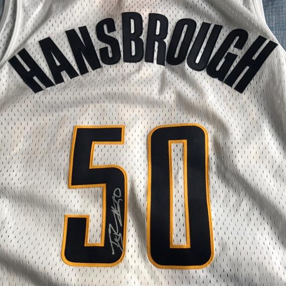 34f409ddeb4 adidas Shirts   Autographed Tyler Hansbrough Jersey   Poshmark